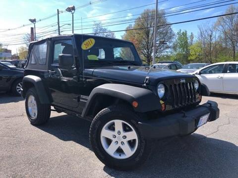 2011 Jeep Wrangler for sale in Framingham, MA