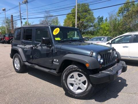 2008 Jeep Wrangler Unlimited for sale in Framingham, MA