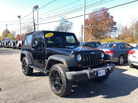 2008 Jeep Wrangler for sale in Framingham, MA