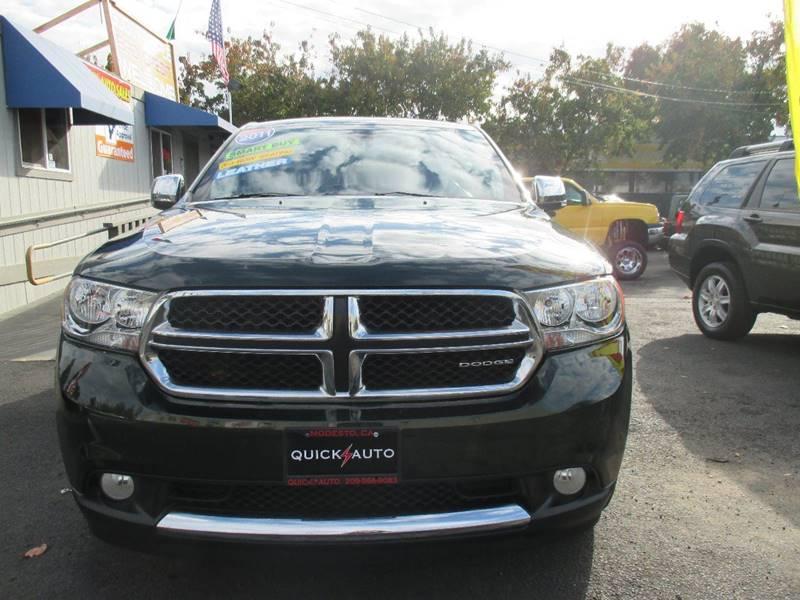 2011 Dodge Durango for sale at Quick Auto Sales in Modesto CA