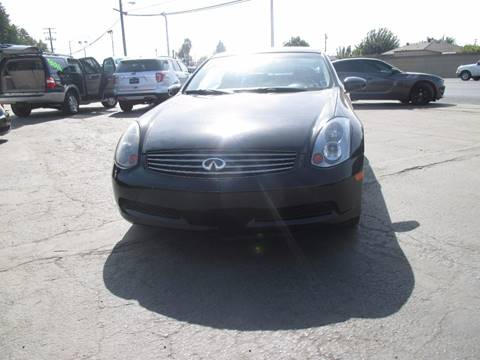 2004 Infiniti G35 for sale in Modesto, CA