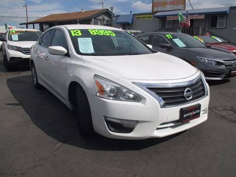 2013 Nissan Altima for sale in Modesto, CA