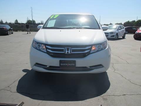 2017 Honda Odyssey for sale in Modesto, CA