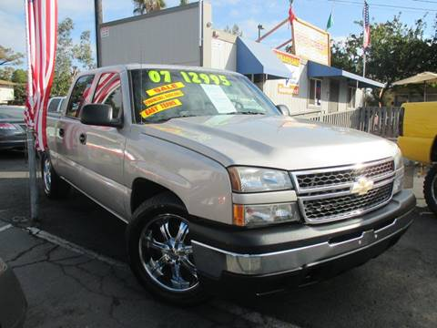 2007 Chevrolet Silverado 1500 Classic for sale at Quick Auto Sales in Modesto CA