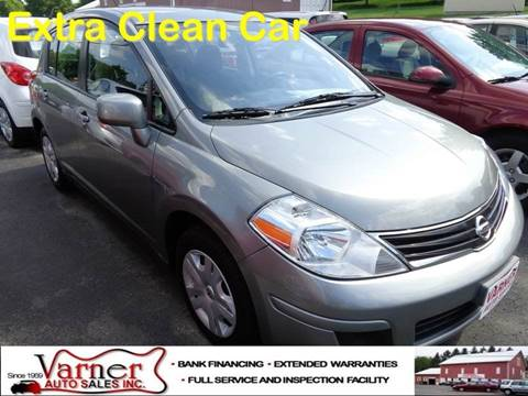 2012 Nissan Versa for sale in Davidsville, PA