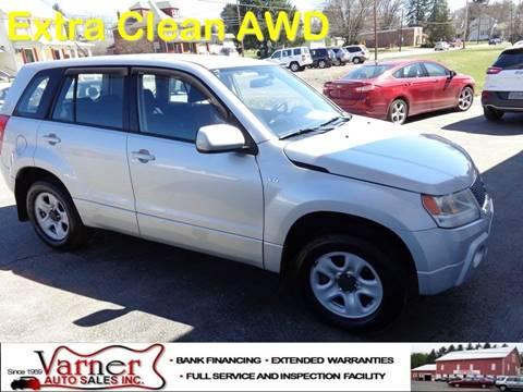 2008 Suzuki Grand Vitara for sale in Davidsville, PA