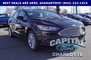 2017 Ford Fusion for sale in Charlotte, NC