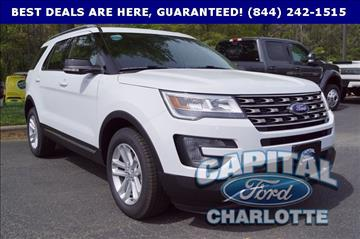 2017 Ford Explorer for sale in Charlotte, NC