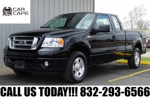 2008 Ford F-150 STX for sale at CAR CAFE LLC in Houston TX