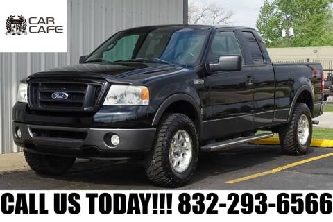 2007 Ford F-150 FX4 for sale at CAR CAFE LLC in Houston TX