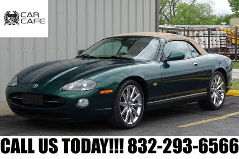 2005 Jaguar XK-Series XK8 for sale at CAR CAFE LLC in Houston TX