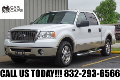 2007 Ford F-150 Lariat for sale at CAR CAFE LLC in Houston TX