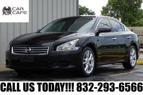 2014 Nissan Maxima for sale at CAR CAFE LLC in Houston TX