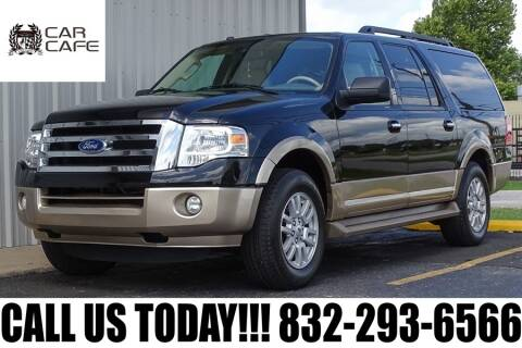 2011 Ford Expedition EL for sale at CAR CAFE LLC in Houston TX