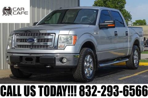 2014 Ford F-150 for sale at CAR CAFE LLC in Houston TX
