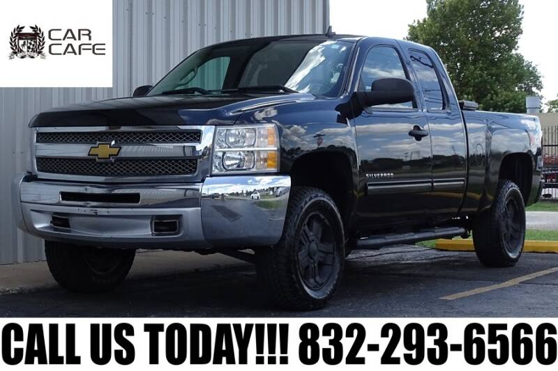 2012 Chevrolet Silverado 1500 for sale at CAR CAFE LLC in Houston TX