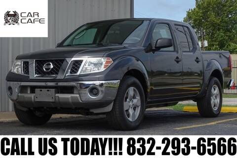 2010 Nissan Frontier for sale at CAR CAFE LLC in Houston TX