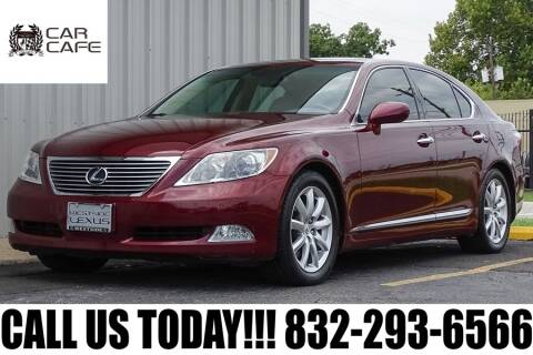 2009 Lexus LS 460 for sale at CAR CAFE LLC in Houston TX