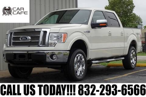 2009 Ford F-150 for sale at CAR CAFE LLC in Houston TX