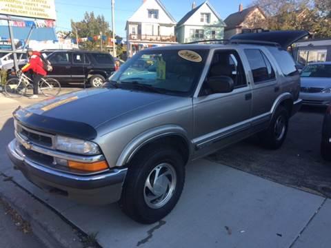 2000 Chevrolet Blazer for sale at Diamond Auto Sales in Milwaukee WI