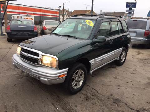 2002 Chevrolet Tracker for sale at Diamond Auto Sales in Milwaukee WI