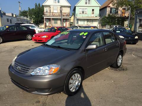 2004 Toyota Corolla for sale at Diamond Auto Sales in Milwaukee WI