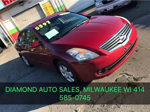 2007 Nissan Altima for sale at Diamond Auto Sales in Milwaukee WI