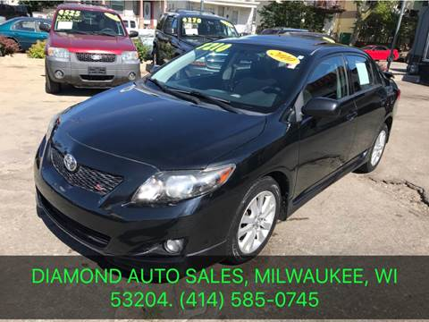 2010 Toyota Corolla for sale at Diamond Auto Sales in Milwaukee WI