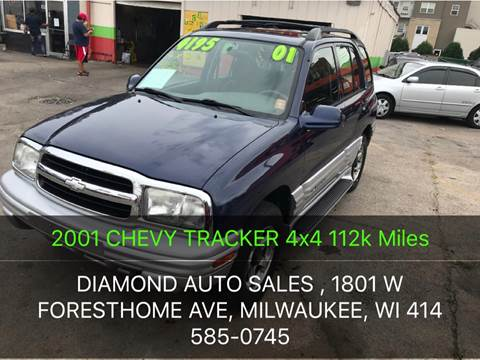 2001 Chevrolet Tracker for sale at Diamond Auto Sales in Milwaukee WI