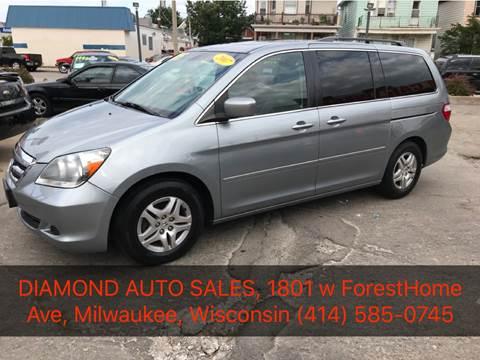 2007 Honda Odyssey for sale at Diamond Auto Sales in Milwaukee WI