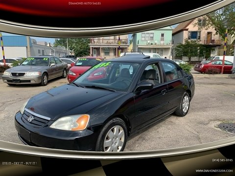 2002 Honda Civic for sale in Milwaukee, WI