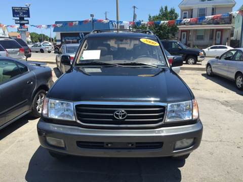 2000 Toyota Land Cruiser for sale at Diamond Auto Sales in Milwaukee WI