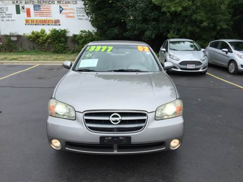 2002 Nissan Maxima for sale at Diamond Auto Sales in Milwaukee WI