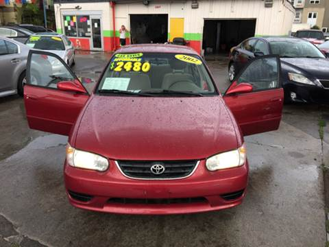 2002 Toyota Corolla for sale at Diamond Auto Sales in Milwaukee WI