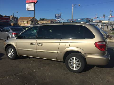 2002 Chrysler Town and Country for sale at Diamond Auto Sales in Milwaukee WI