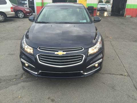 2015 Chevrolet Cruze for sale at Diamond Auto Sales in Milwaukee WI