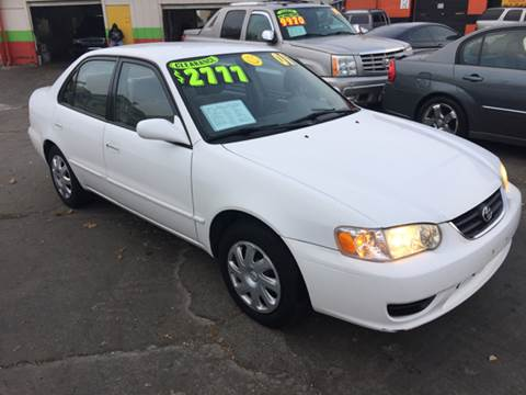 2001 Toyota Corolla for sale at Diamond Auto Sales in Milwaukee WI