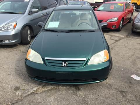 2002 Honda Civic for sale at Diamond Auto Sales in Milwaukee WI