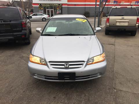 2002 Honda Accord for sale at Diamond Auto Sales in Milwaukee WI