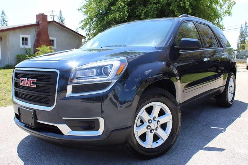 2015 GMC Acadia for sale at Express Automotive, Inc. in Pompano Beach FL