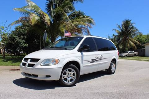 2003 Dodge Grand Caravan for sale at Express Automotive, Inc. in Pompano Beach FL