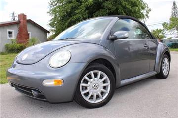 2005 Volkswagen New Beetle for sale in Deerfield Beach, FL