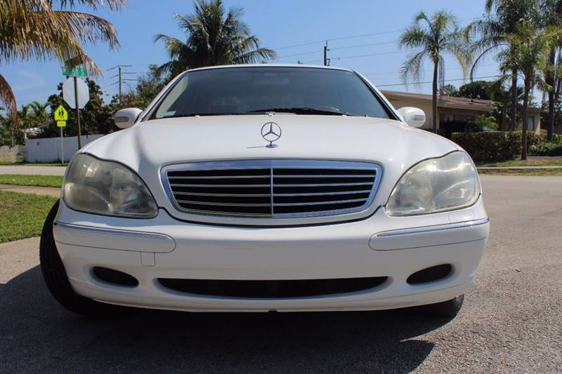 2000 Mercedes-Benz S-Class for sale at Express Automotive, Inc. in Pompano Beach FL