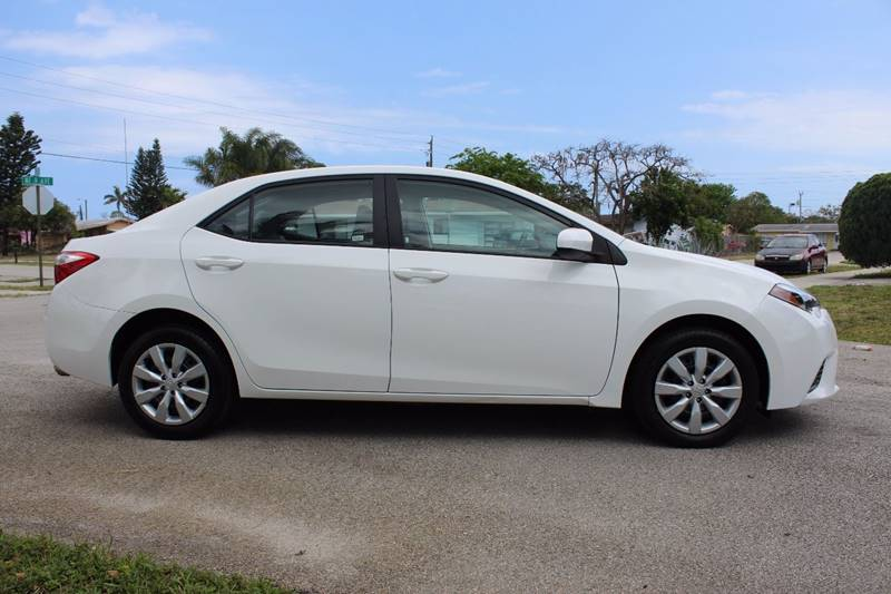 2016 Toyota Corolla for sale at Express Automotive, Inc. in Pompano Beach FL