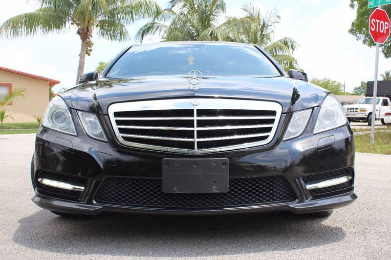2013 Mercedes-Benz E-Class for sale at Express Automotive, Inc. in Pompano Beach FL