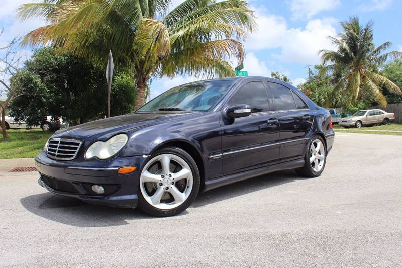 2005 Mercedes-Benz C-Class for sale at Express Automotive, Inc. in Pompano Beach FL