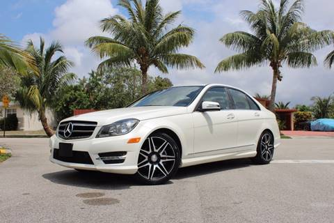 2014 Mercedes-Benz C-Class for sale at Express Automotive, Inc. in Pompano Beach FL