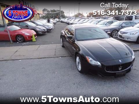 2014 Maserati Quattroporte for sale in Inwood, NY