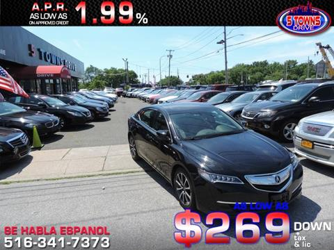 2015 Acura TLX for sale in Inwood, NY