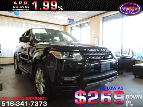 2015 Land Rover Range Rover Sport for sale in Inwood, NY